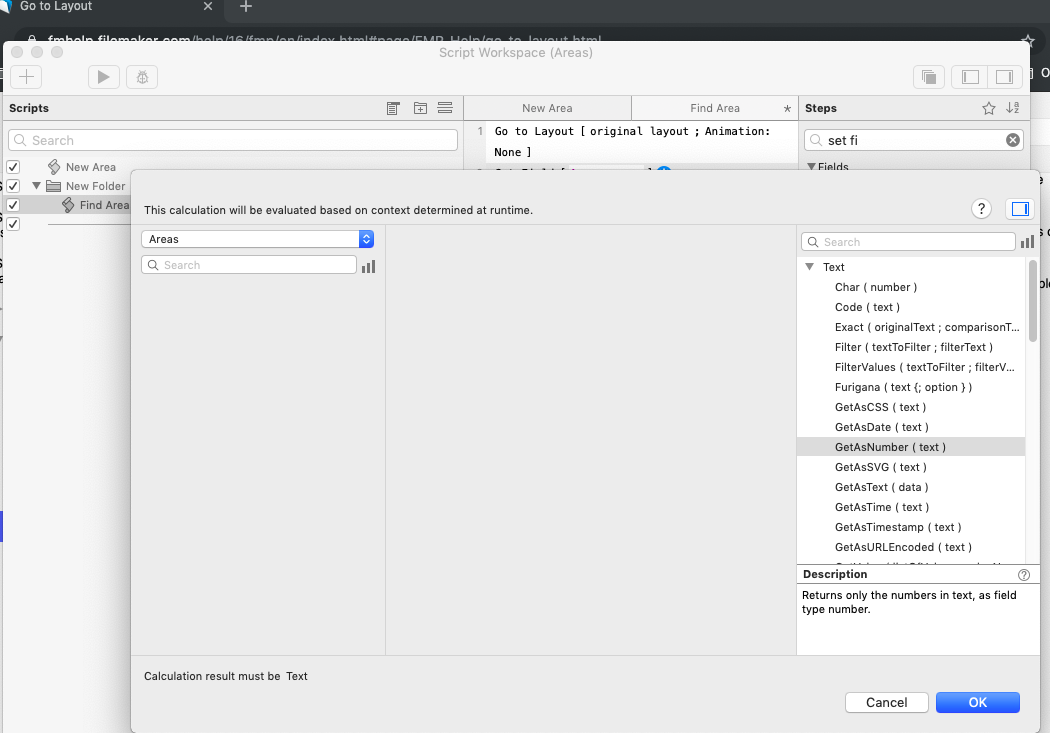 Filemaker Script Workspace Functions Crippled by Plug-ins