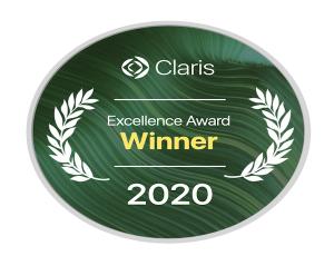 Claris Excellence Award Winner 2020