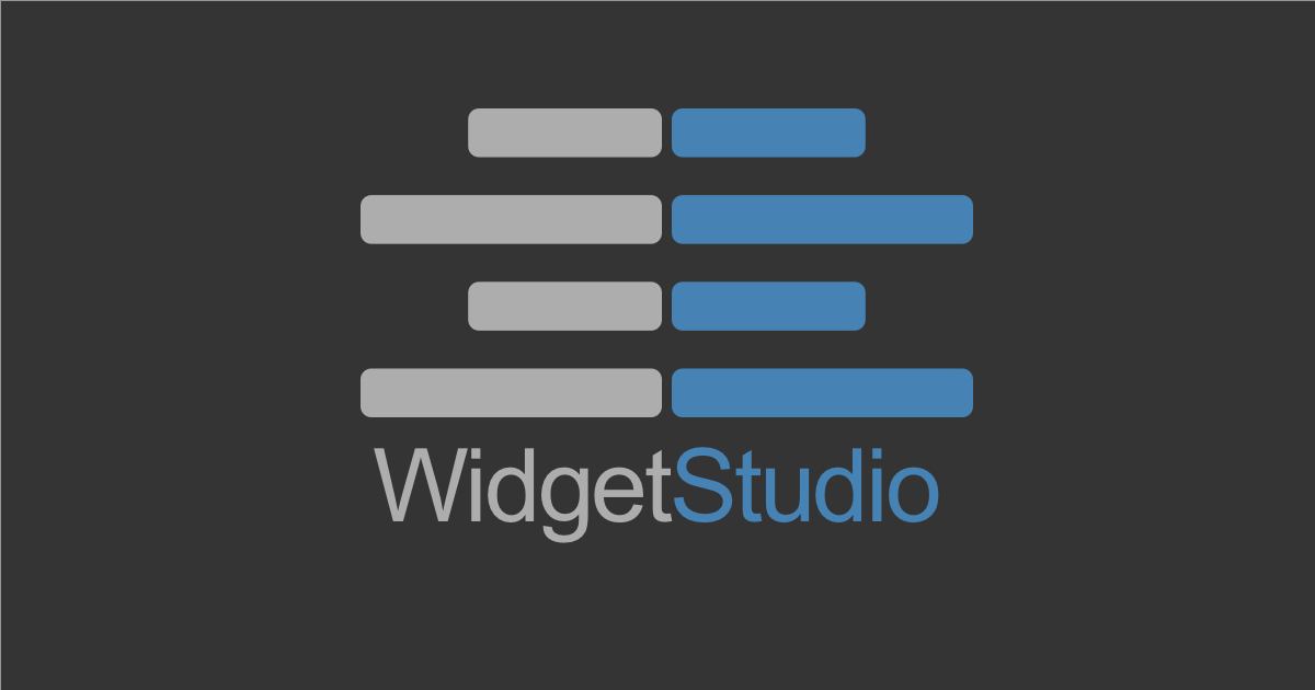 Announcing WidgetStudio – FileMaker WebViewer Widgets